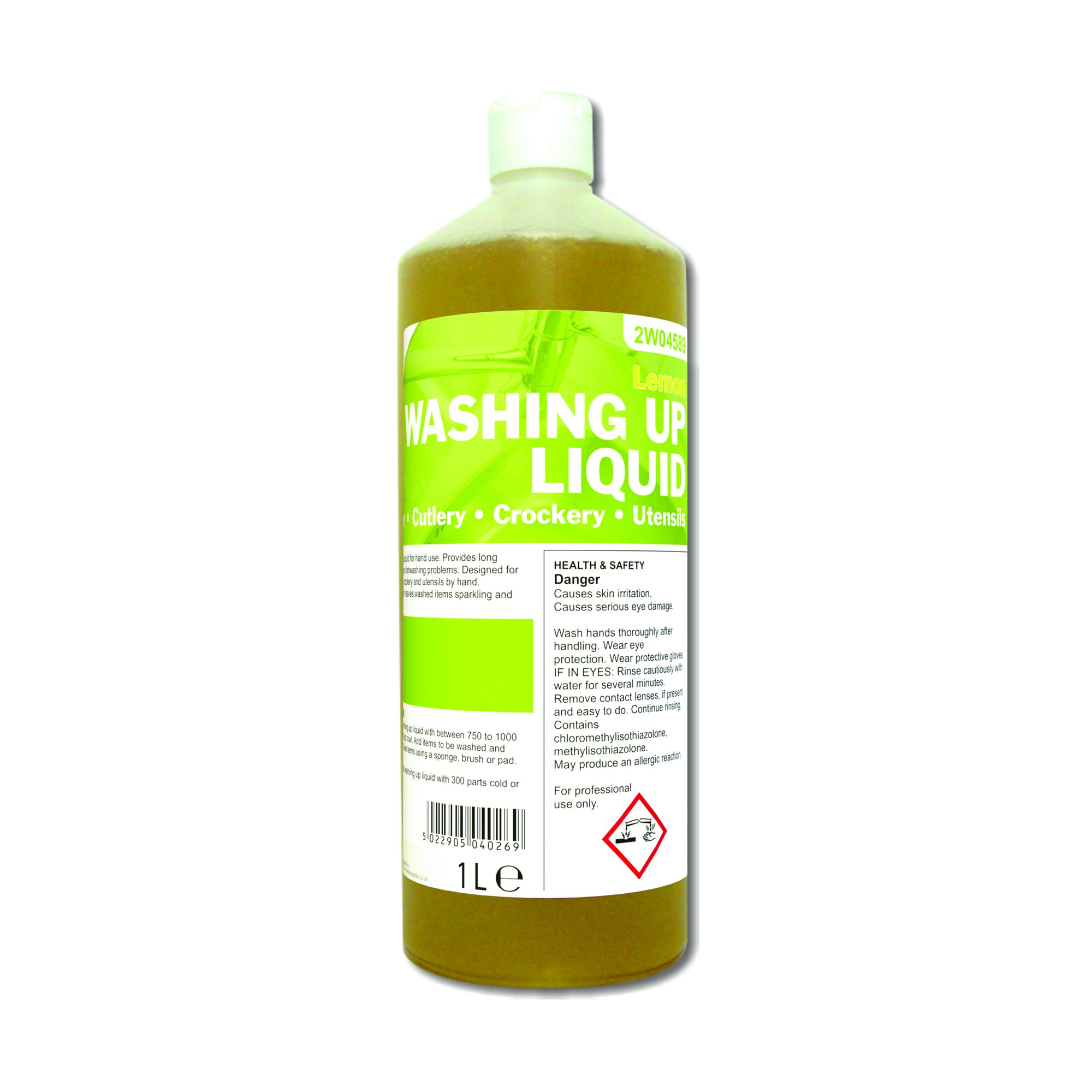 Washing Up Liquid Lemon 1 Litre