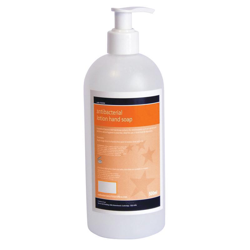 Antibacterial Lotion Soap 500ml