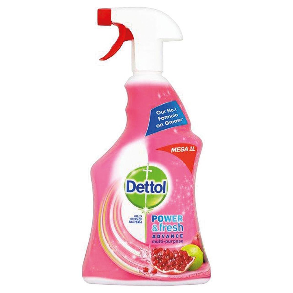 Dettol Power & Fresh Trigger Pomegranate 1 Litre