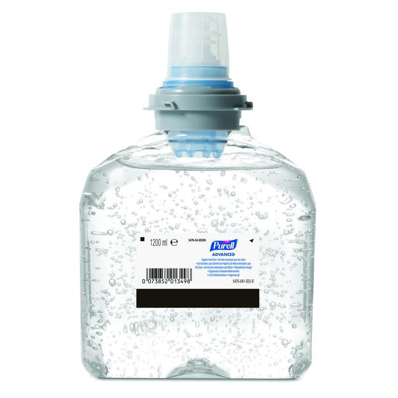 PURELL TFX Advanced Hygienic Hand Rub Refill 1200ml (4) 5476-04-EFF0