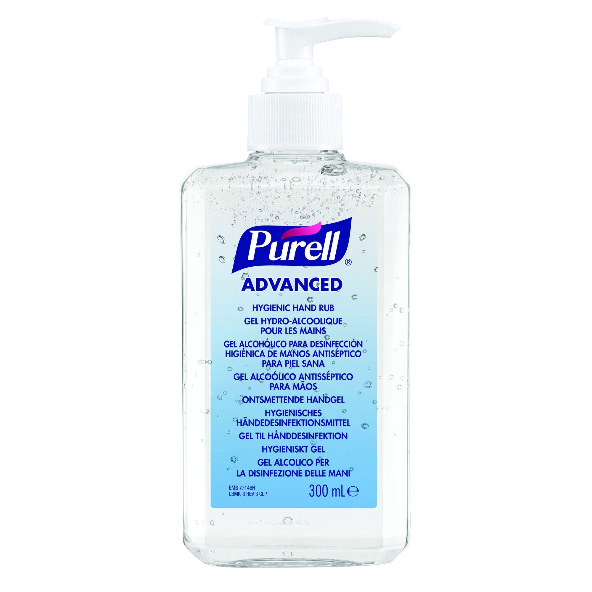 PURELL Advanced Hygienic Hand Rub 350ml 9659-12-EEU0