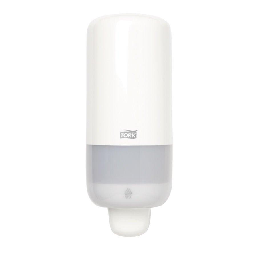 Tork Foam Soap Dispenser Antibacterial Soap White Ref 561500