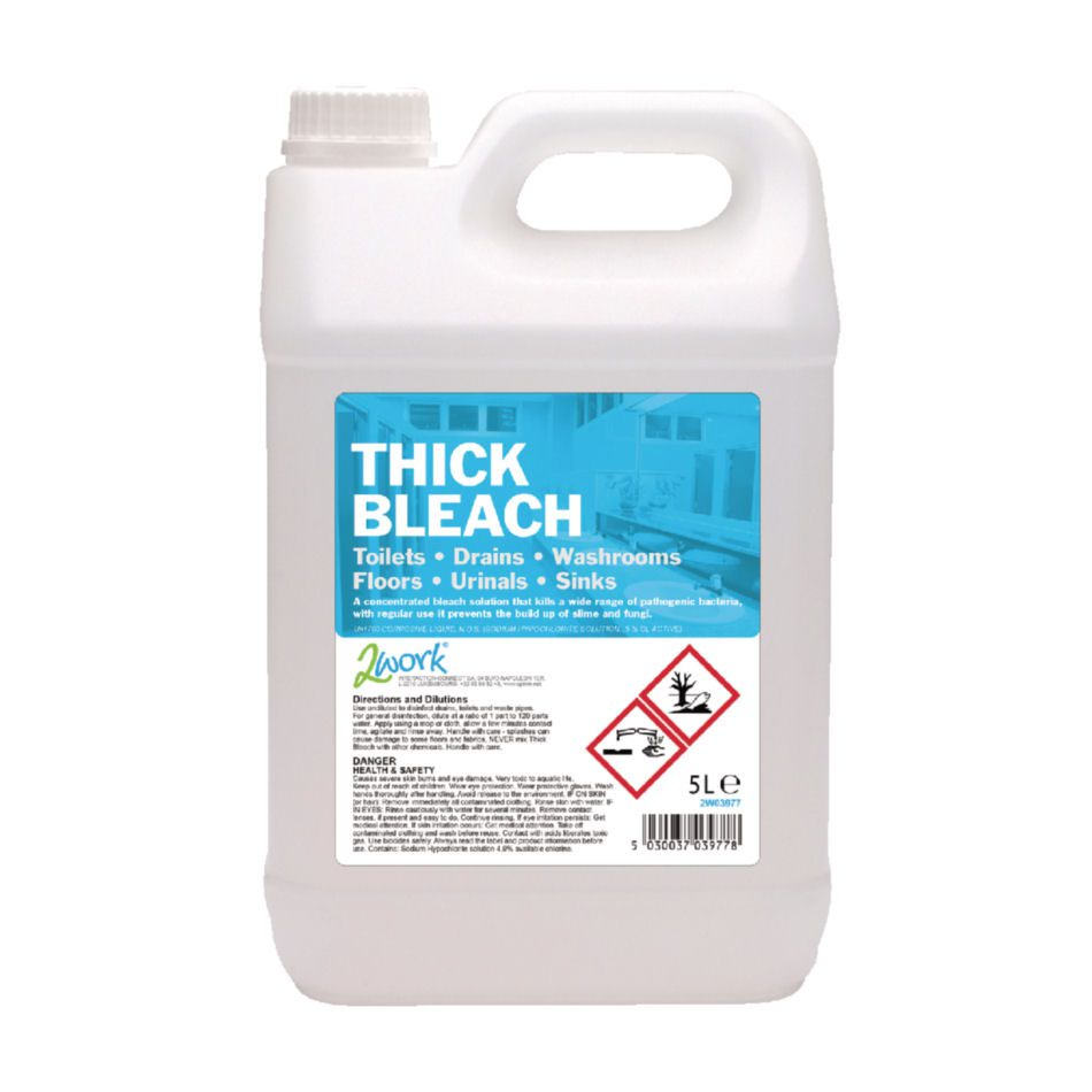 Thick Bleach 5 Litre