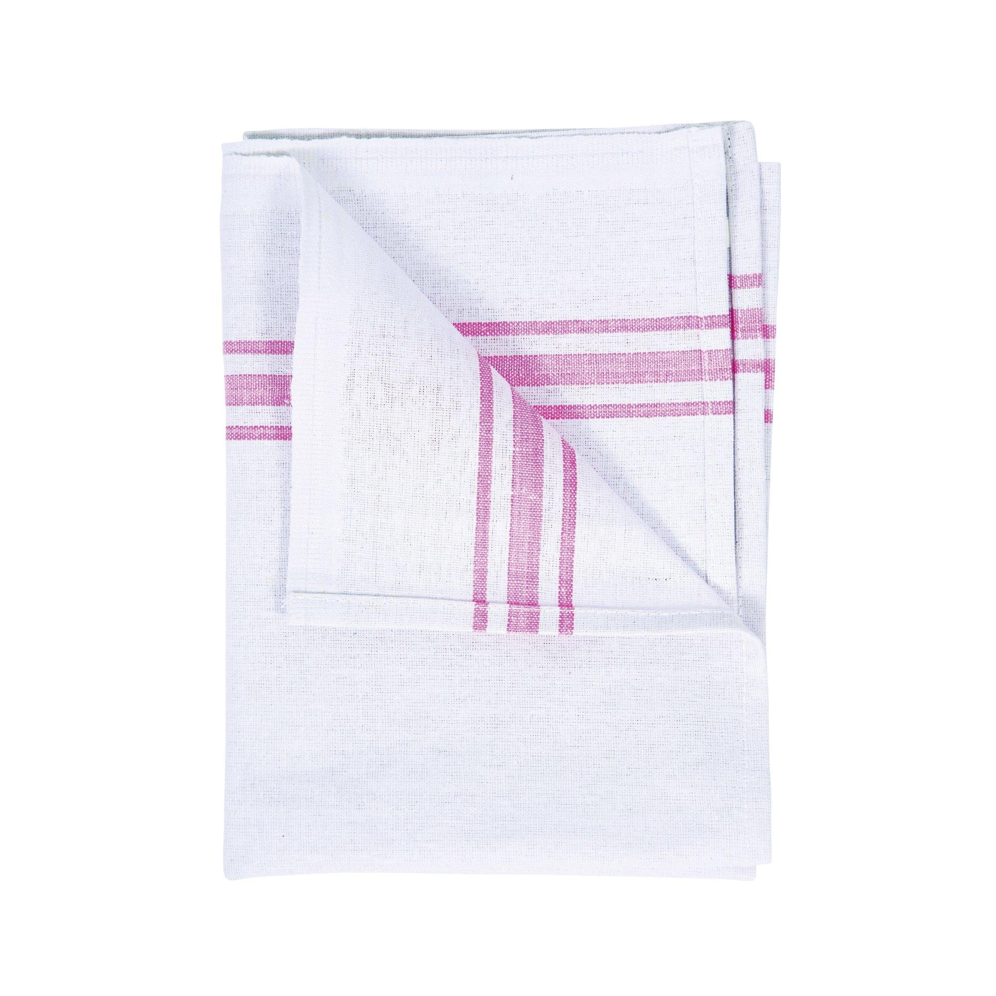 White Cotton Tea Towel 190x290mm (10)