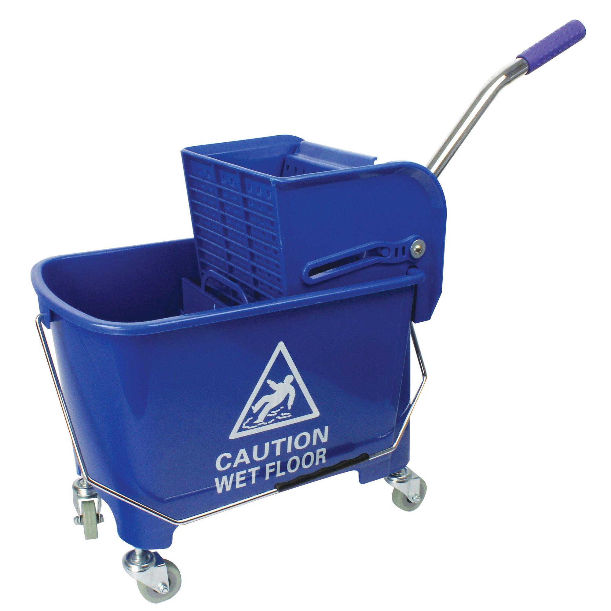 Contico Mobile Mop Bucket 15lt Blue
