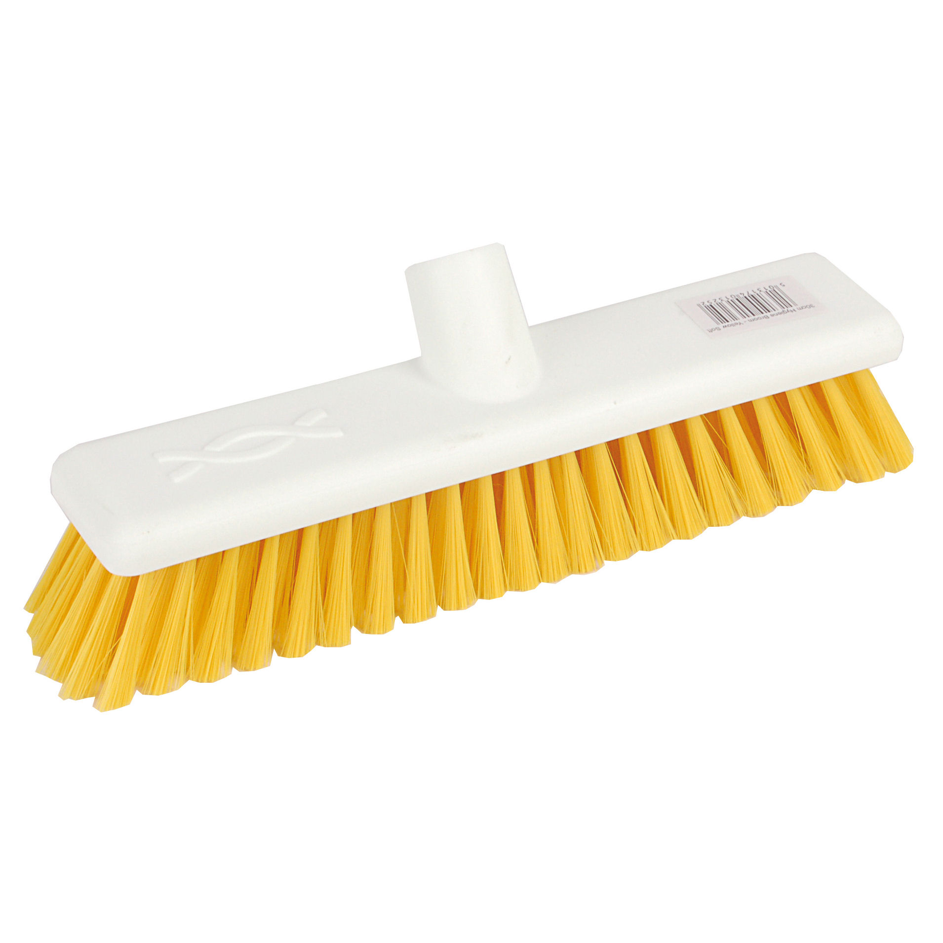 Robert Scott & Sons Abbey Hygiene Broom Head Soft Washable 12in Yellow Ref 102910YELLOW