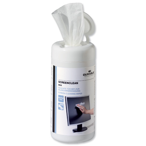 Durable Screenclean Wipes (100) 5736/02
