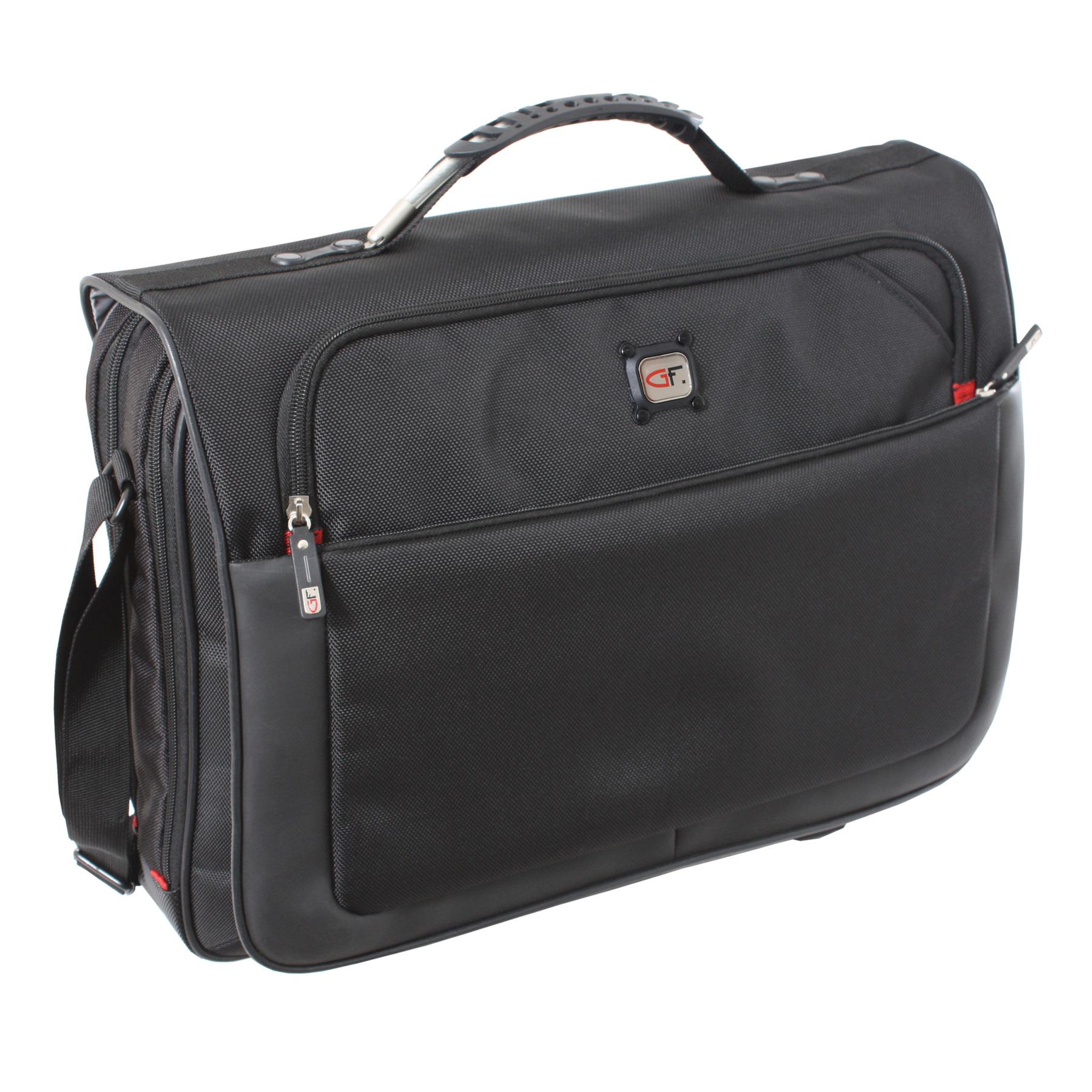 Gino Ferrari Titan Messenger Bag Black GF521