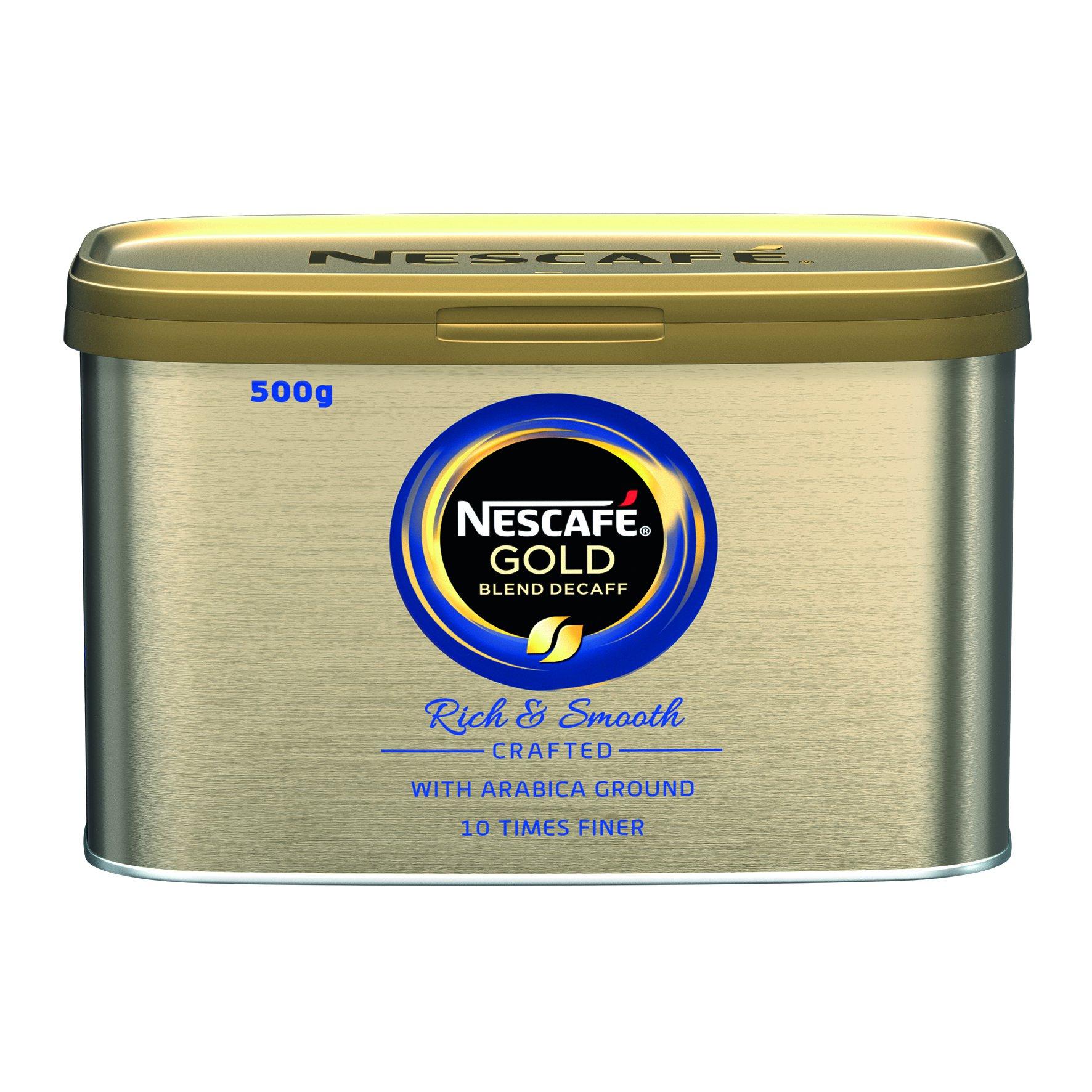 NESCAFE GOLD BLEND Decaffeinated Coffee Granules 500g
