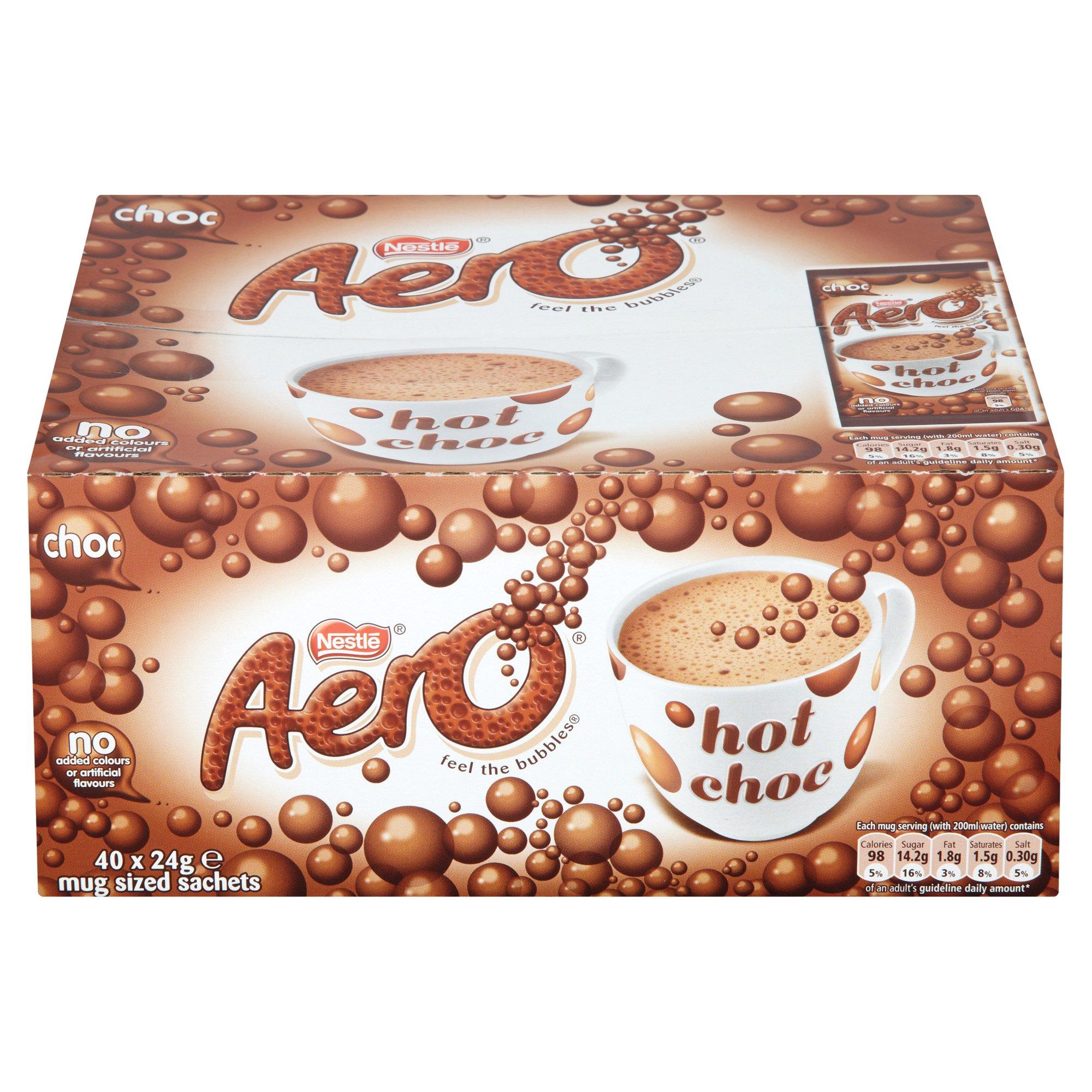 Aero Hot Chocolate Drink Sachets (40)