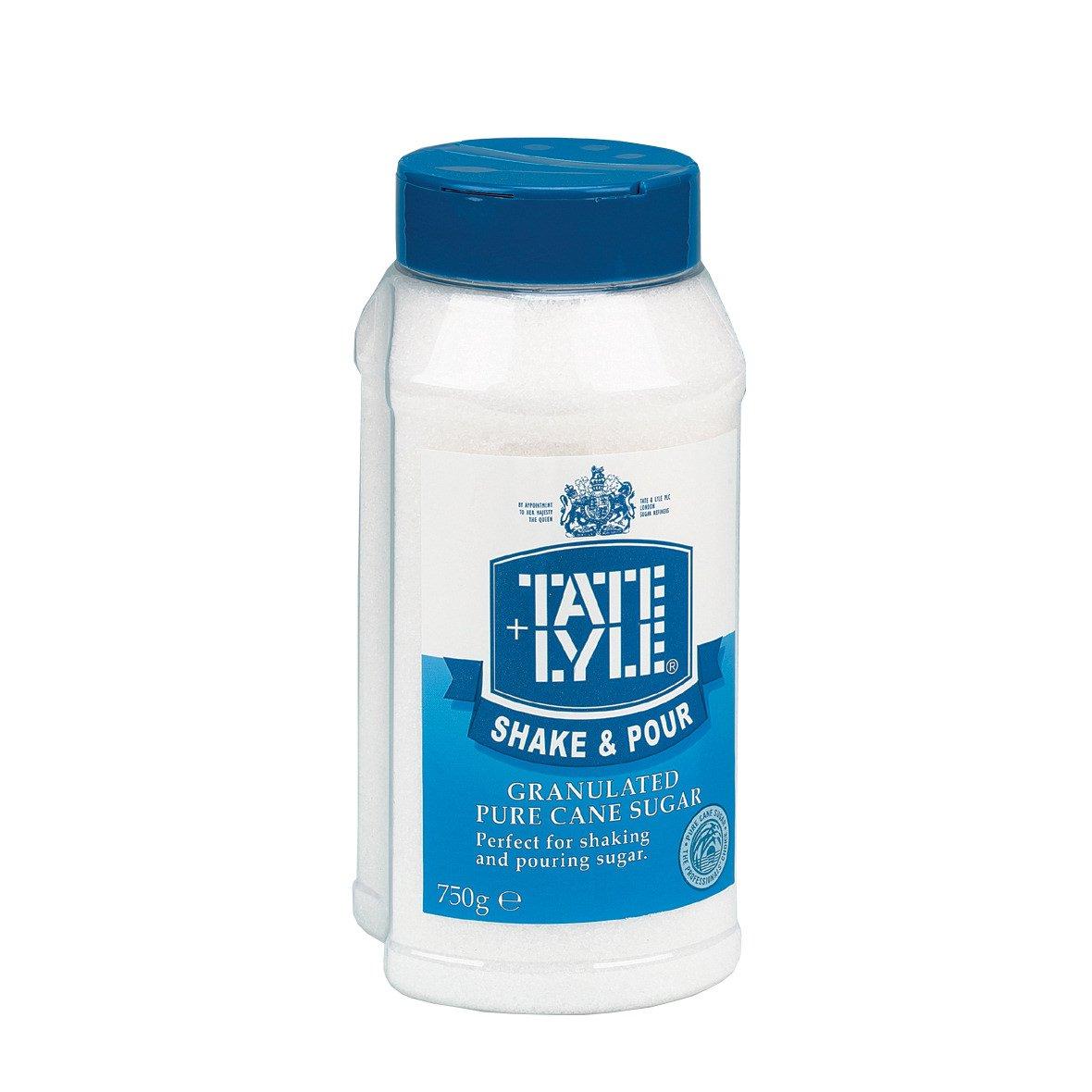Tate & Lyle Granulated Sugar Tub Dispenser 750g