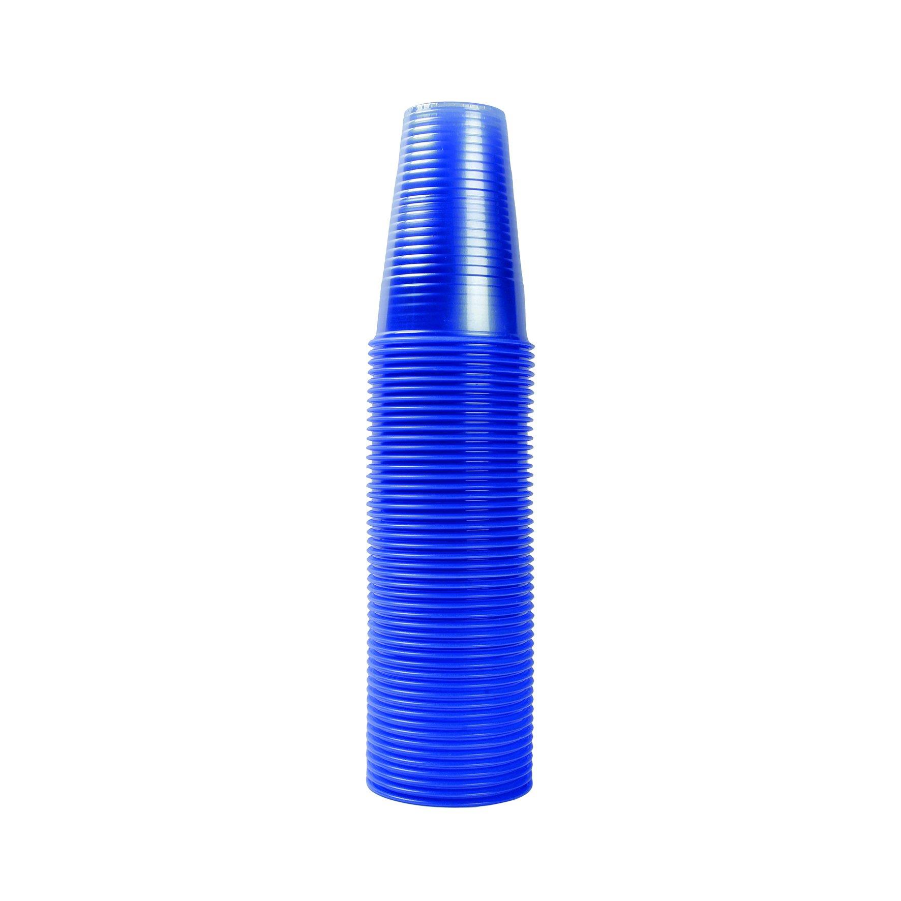 Non Vending Plastic Cups Blue 7oz (1000)