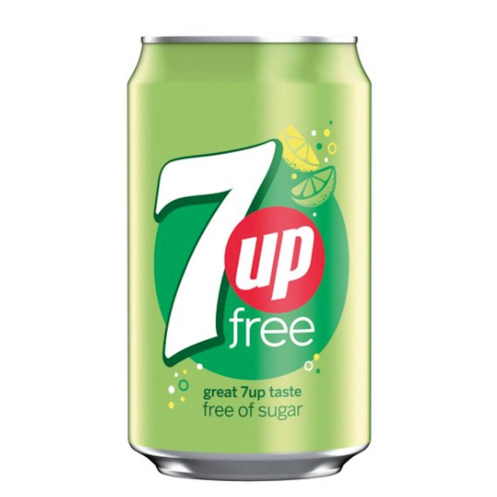 7Up Light Can 330ml (24)