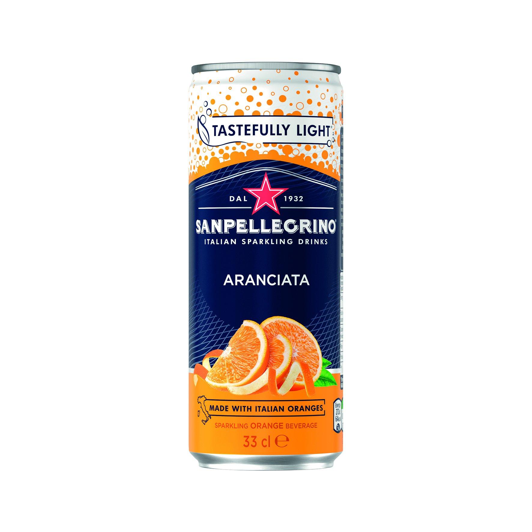 San Pellegrino Can Aranciata 330ml (24)
