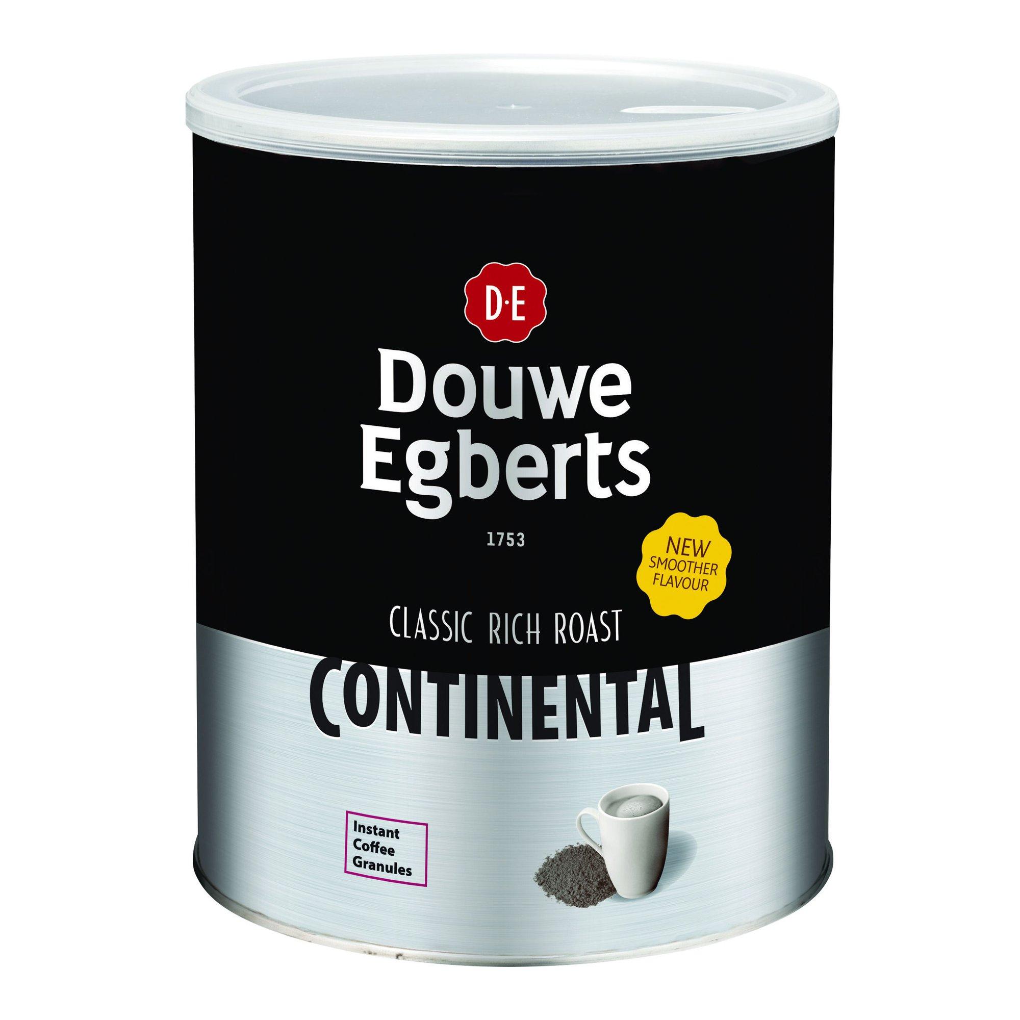 Douwe Egberts Continental Rich Roast Coffee Tin 750g