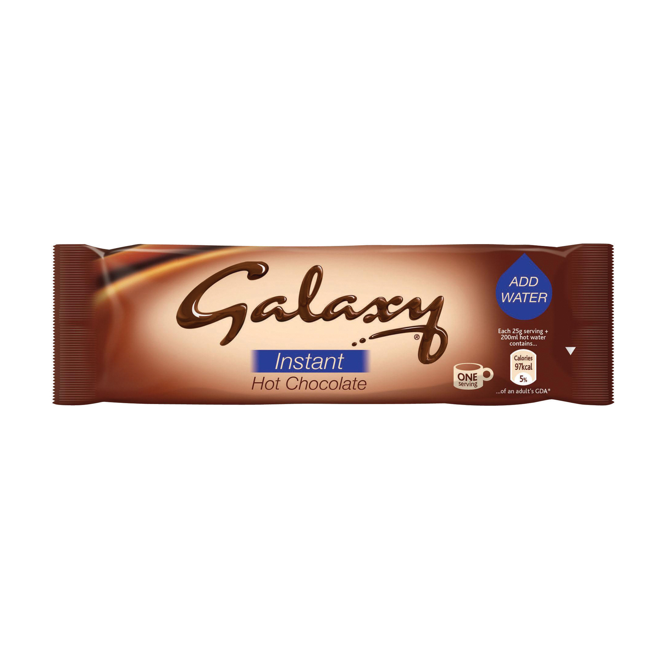 Galaxy Hot Chocolate Sachets 25g (50)