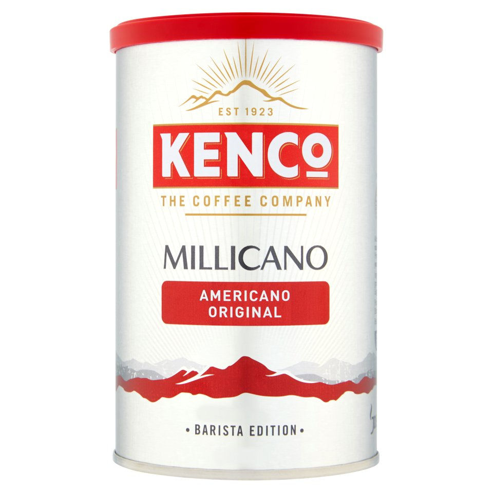 Kenco Millicano Coffee Wholebean Instant Original 100g Ref 643124