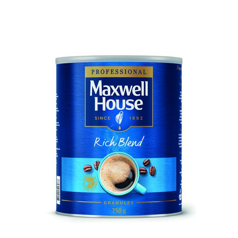 Maxwell House Rich Blend Coffee Granules 750g 64985