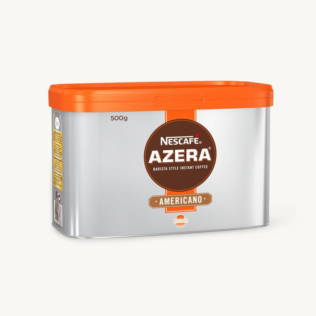 NESCAFE Azera Americano Barista Style Coffee 500g (2) + Gift