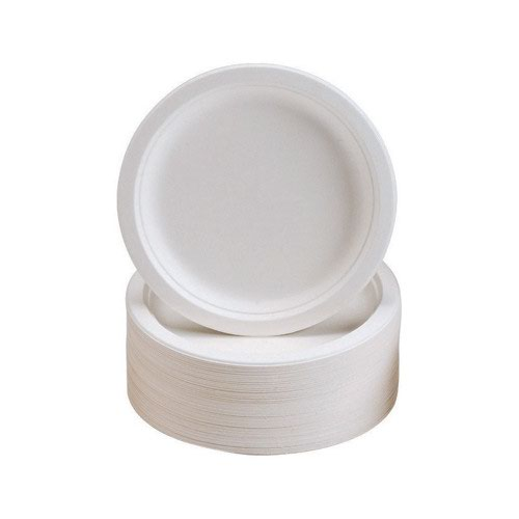 Disposable Rigid Plates 180mm (50)