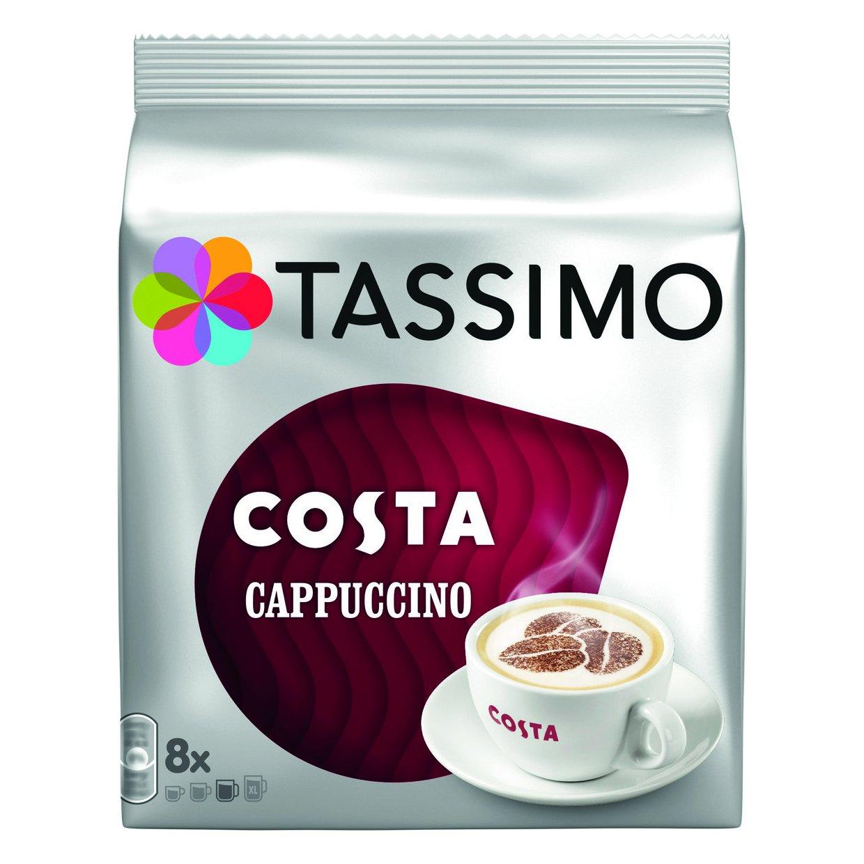 Tassimo Costa Cappuccino Ref 973546 [Pack 5]