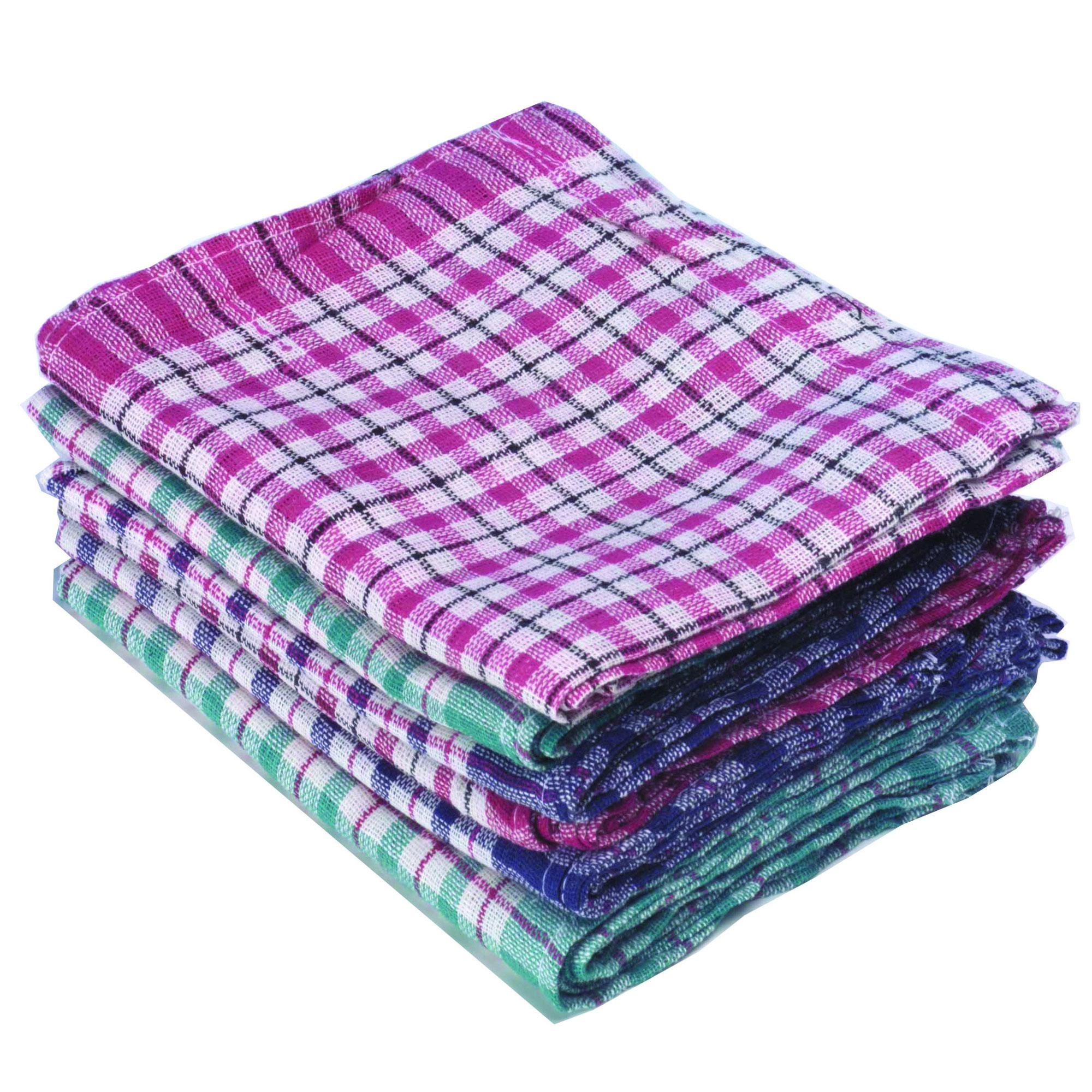 Tea Towels Chequered (10) 311