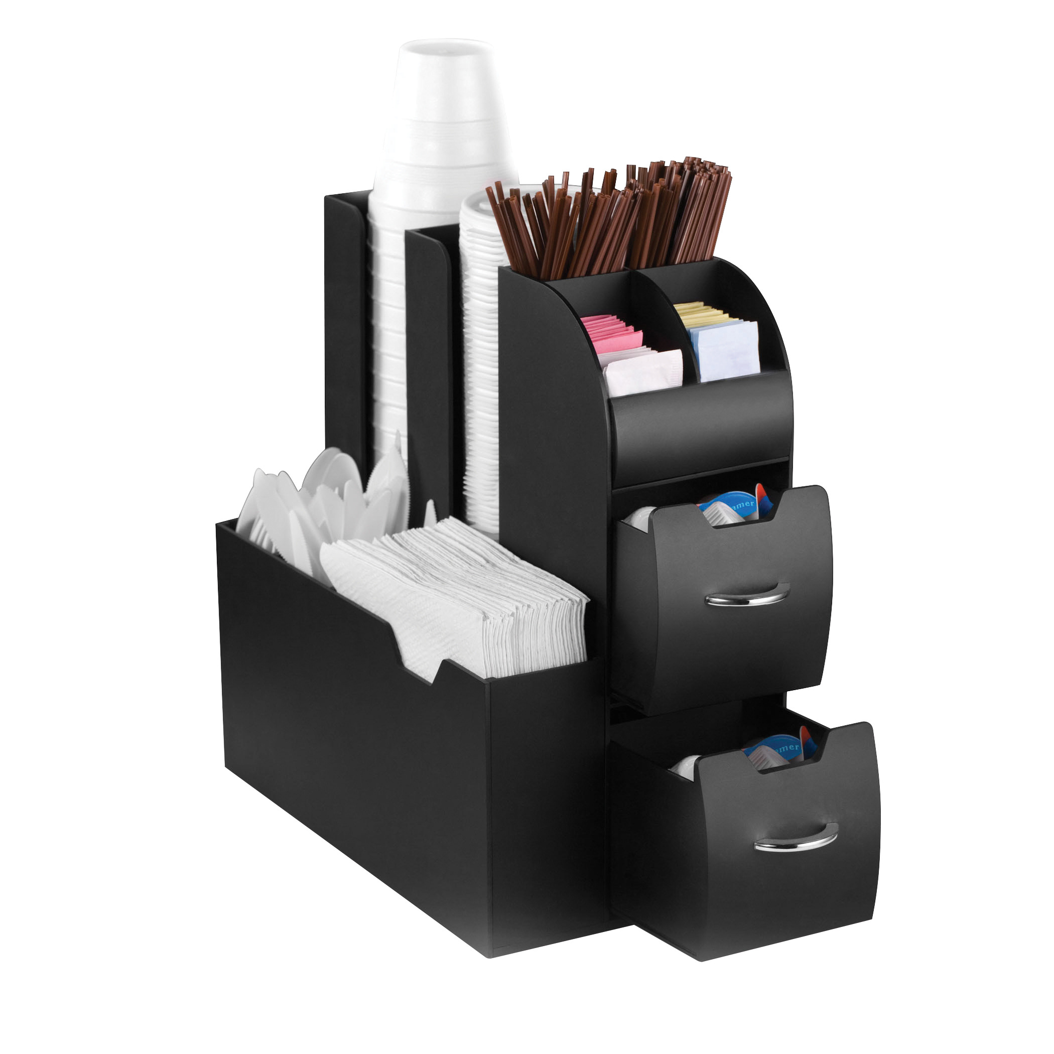 Coffee Condiments and Accessory Caddy