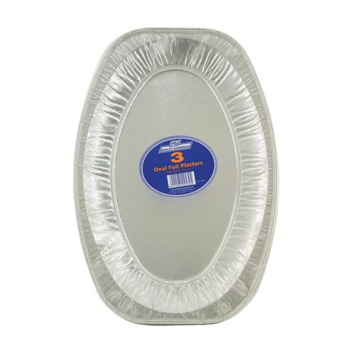Caterpack Oval Foil Food Platter 430mm (3)