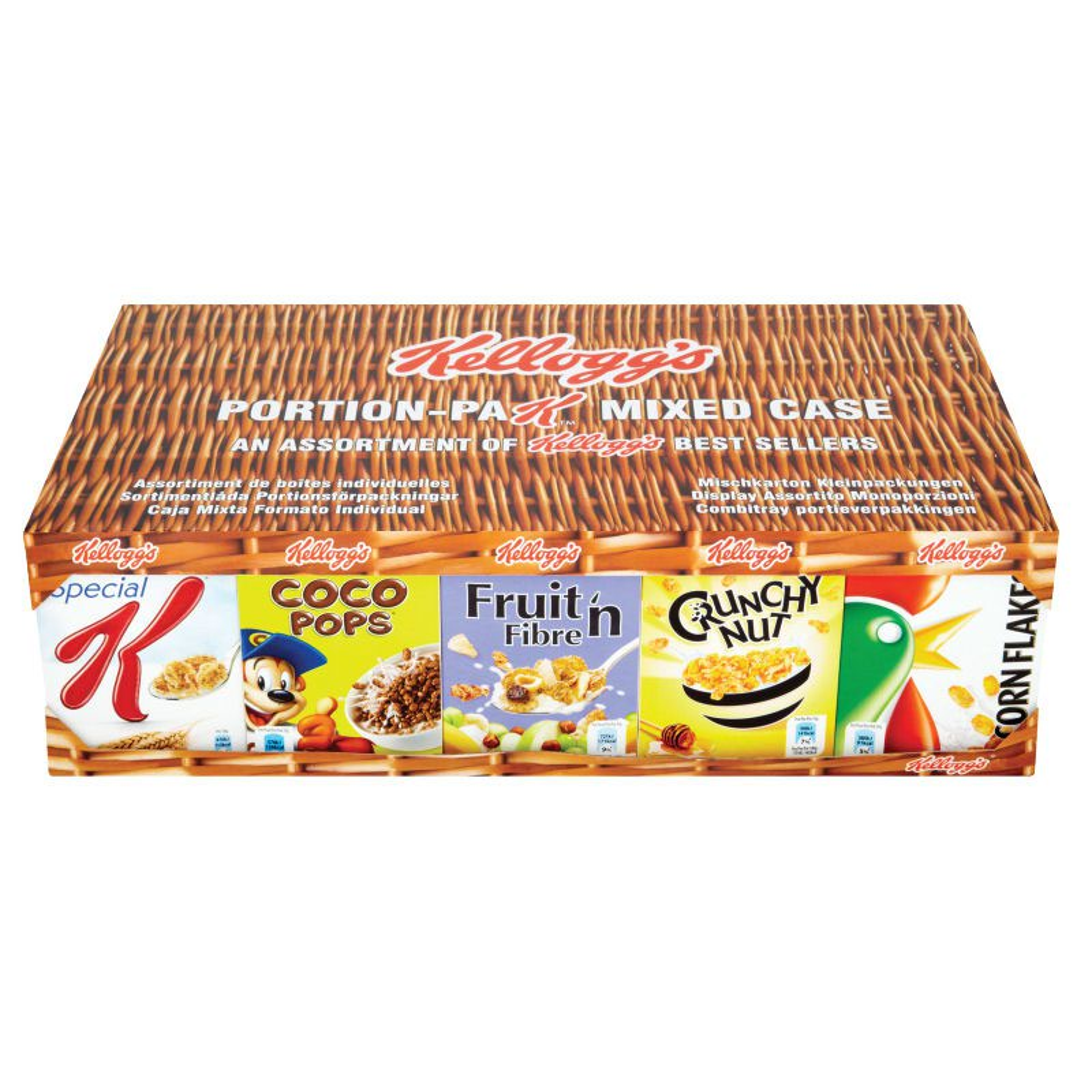 Mixed Case Portion Pack Cereals 7x5 Pks