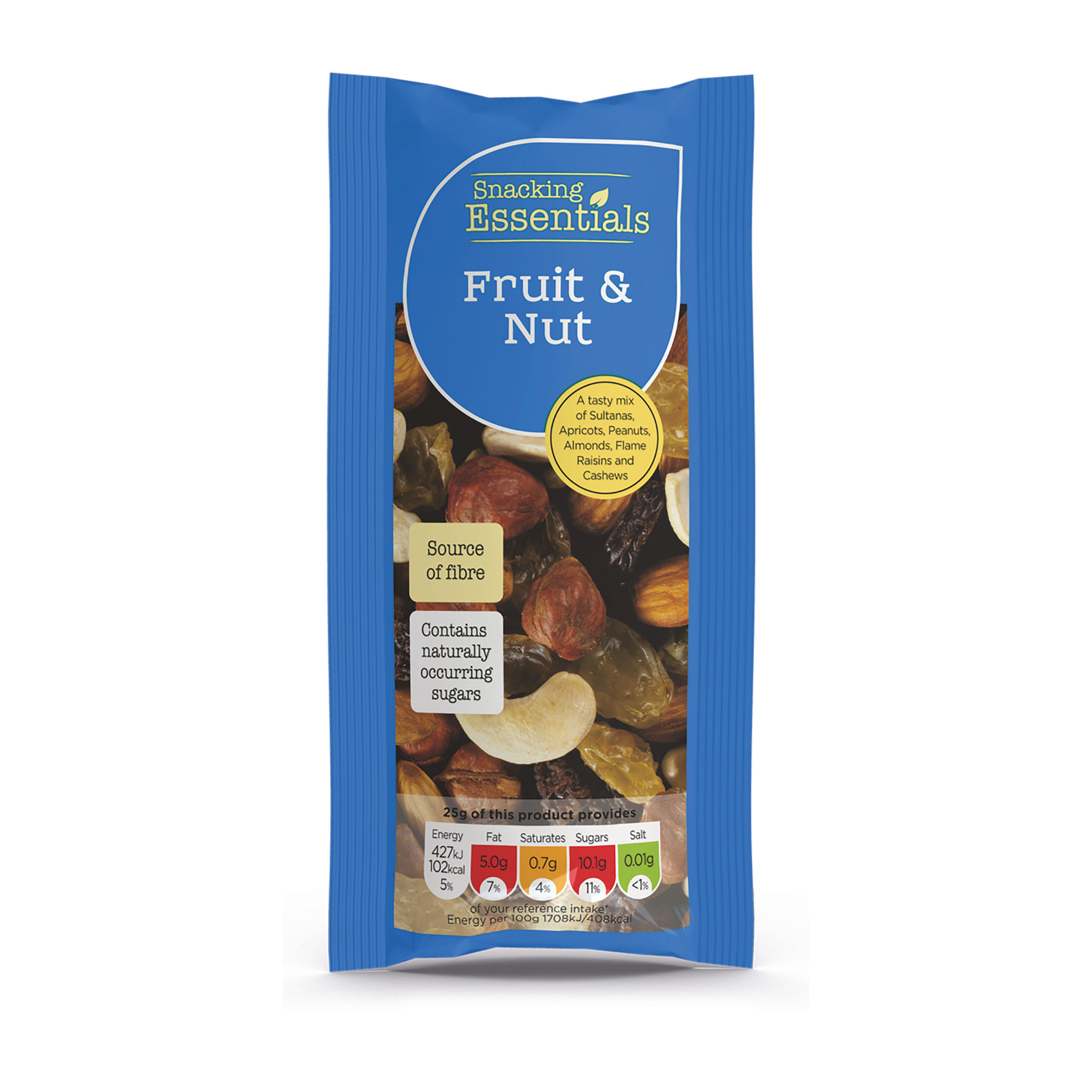 Snacking Essentials Fruit & Nut 50g Ref 808251 [Pack 16]