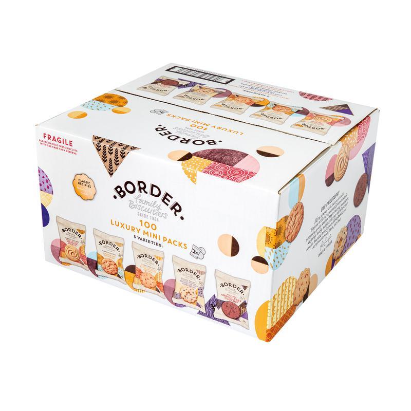 Border Biscuits 5 Varieties Mini Twin Packs Ref 101049