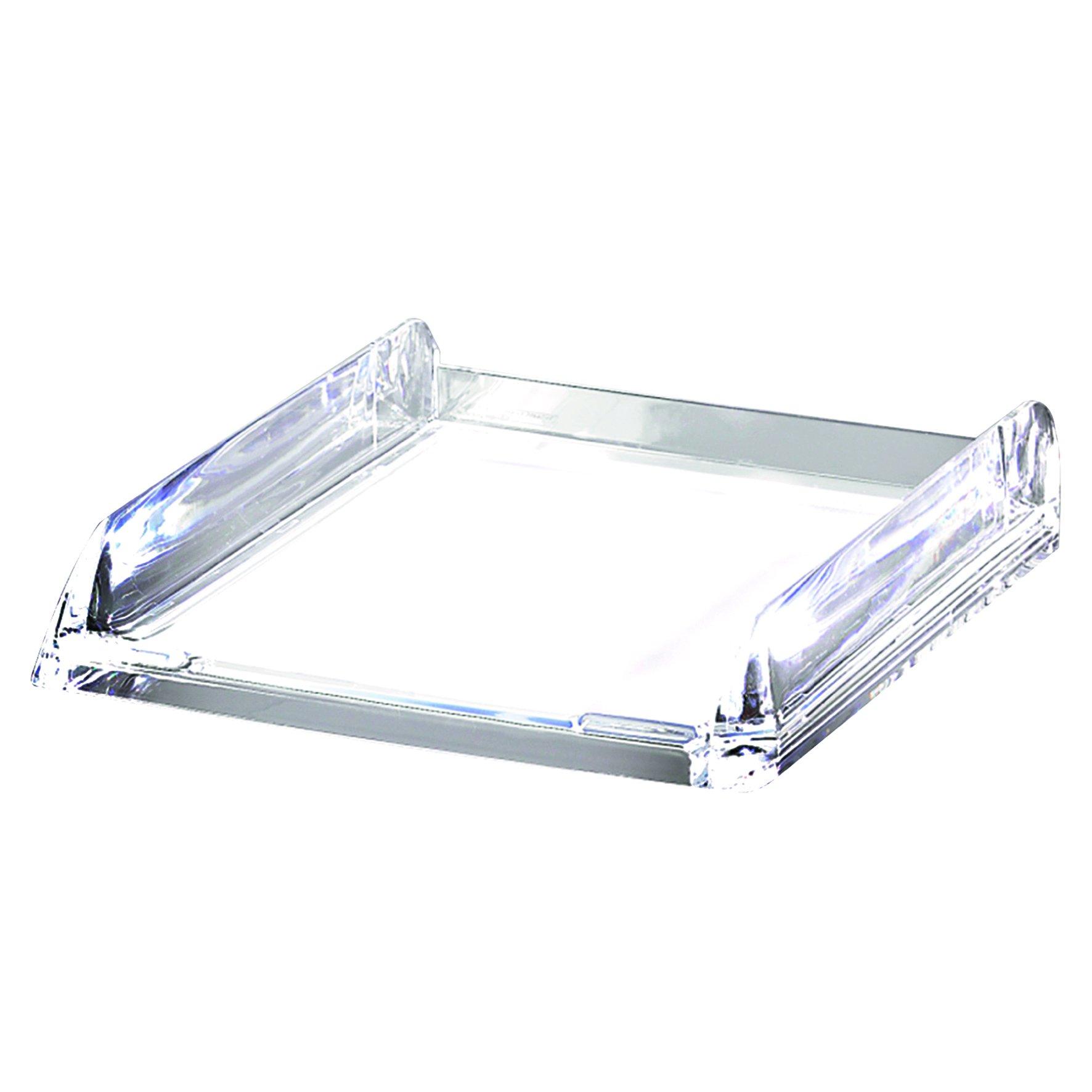 Rexel Nimbus Letter Tray Clear 2101504