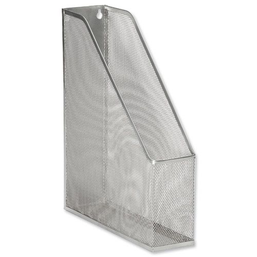 Value Wire Mesh Magazine File Silver