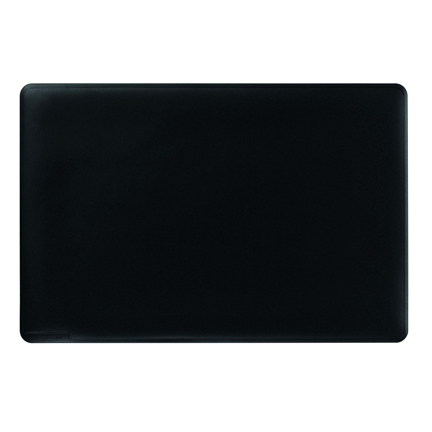 Durable Duraglas Desk Mat 530x400mm Black 7102/01