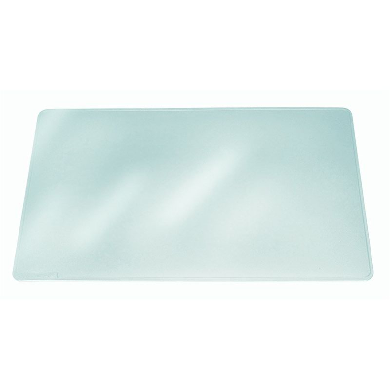 Durable Duraglas Desk Mat 500x650mm Clear 7113/19