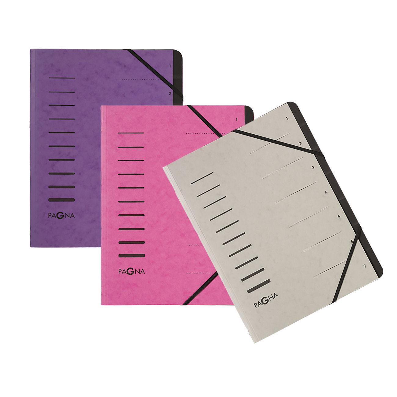 Pagna Pro 12 Part File A4 Purple Ref 4005910