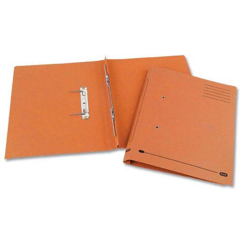 Elba Spirosort File Foolscap Orange 30616