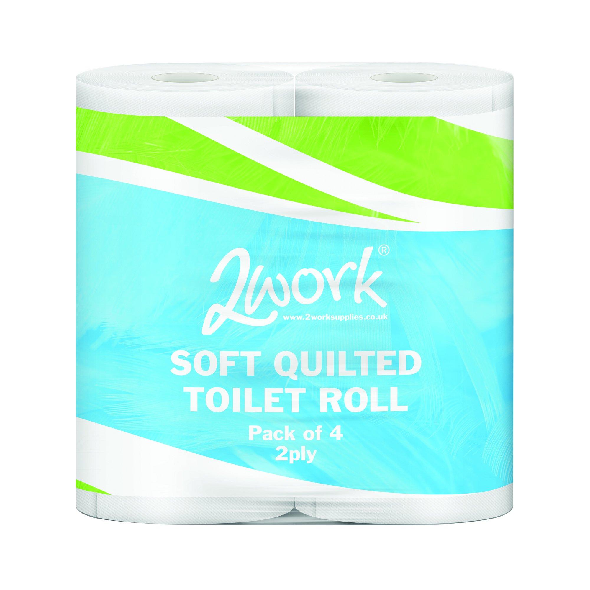 5 Star Facilities Luxury Toilet Tissue Rolls [Pack 40]
