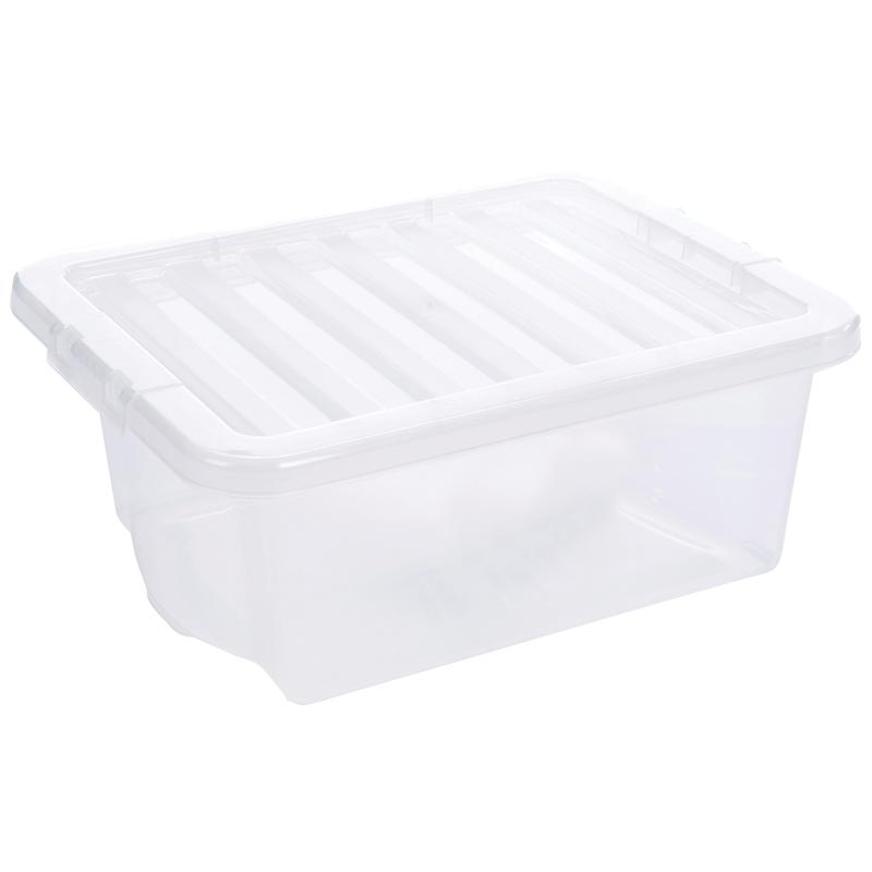 5 Star Storage Box 16L Clear
