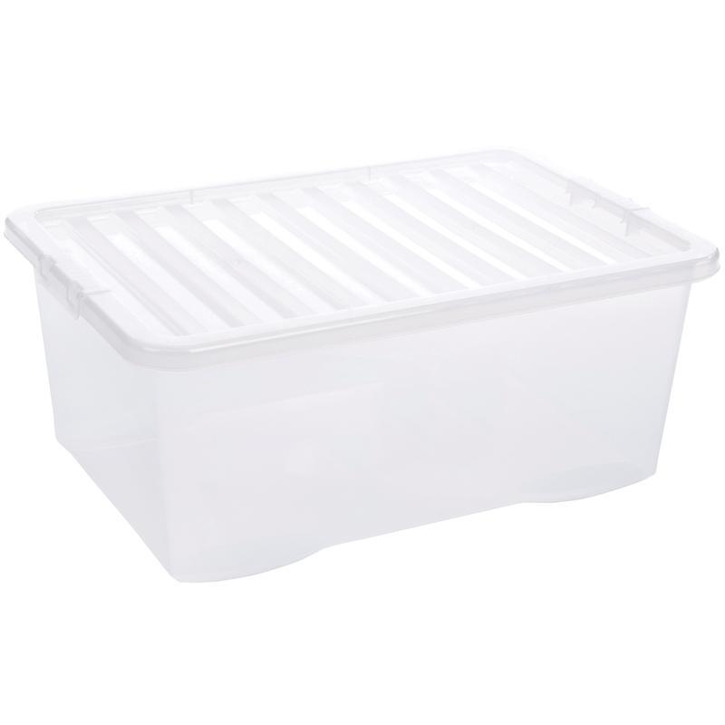 5 Star Storage Box 45L Clear