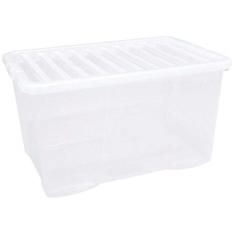 5 Star Storage Box 60L Clear