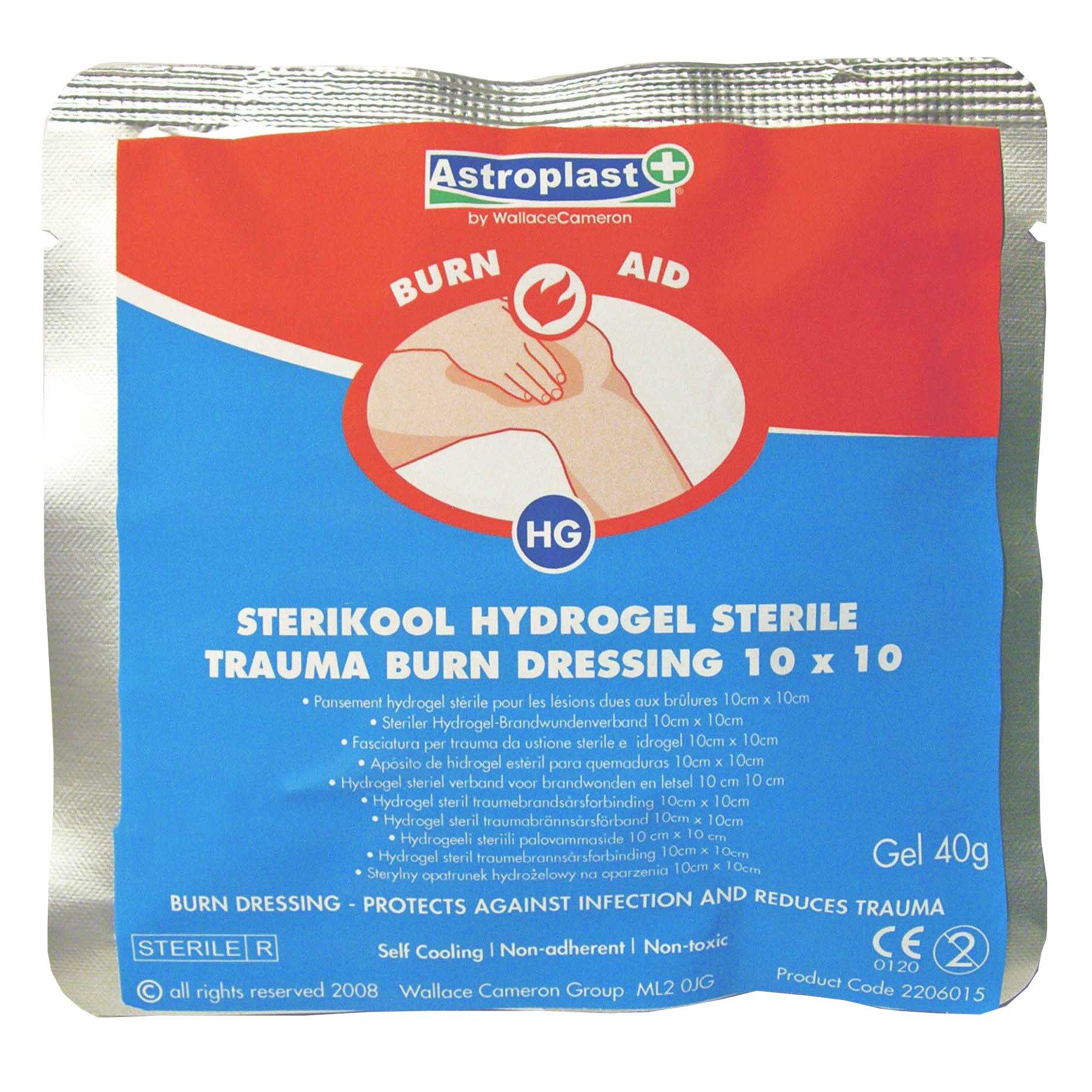 First Aid Burns Packs
