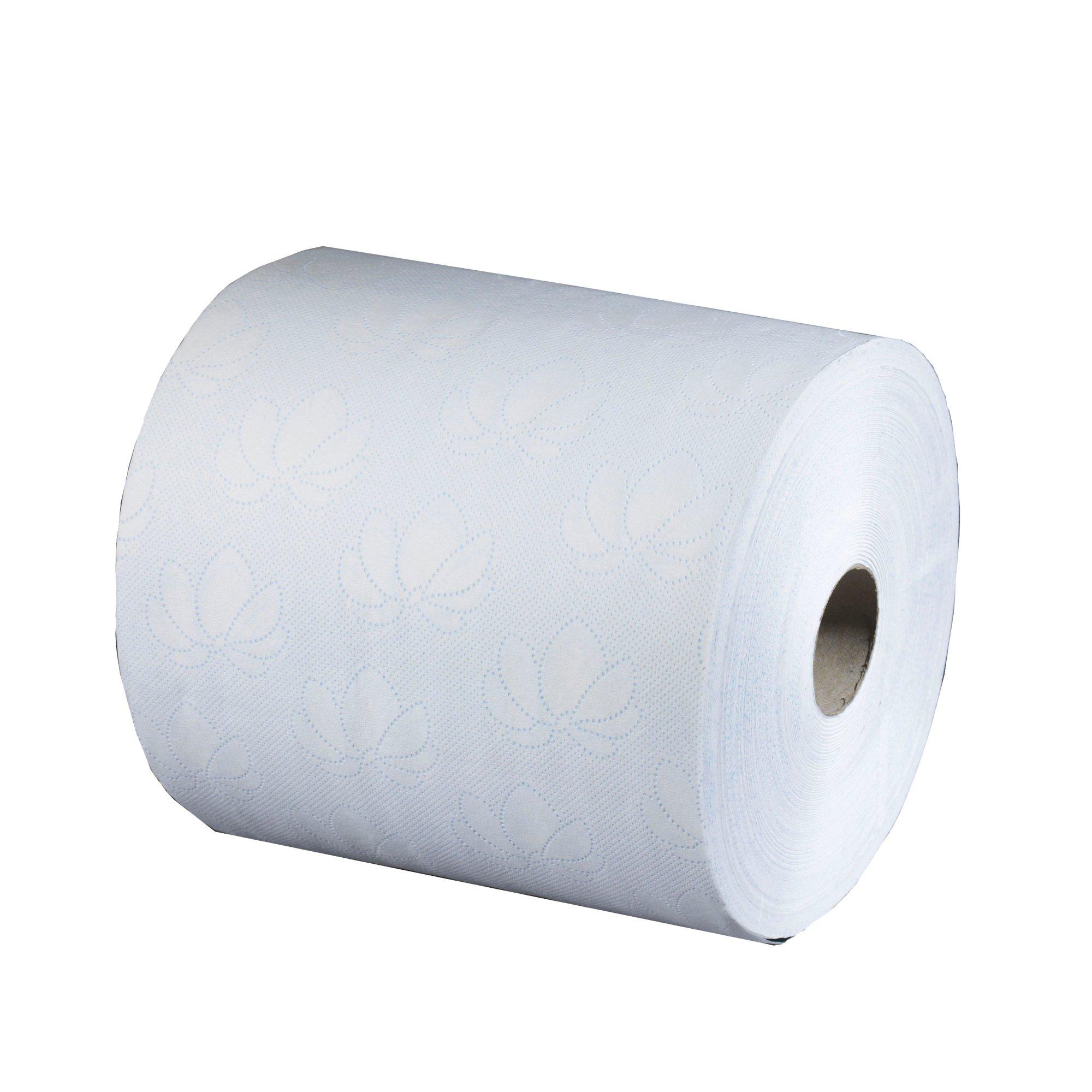 Tork SmartOne Mini Toilet Roll 2-ply 620 Sheets per Roll White Ref 472193 [12 Rolls per Pack]