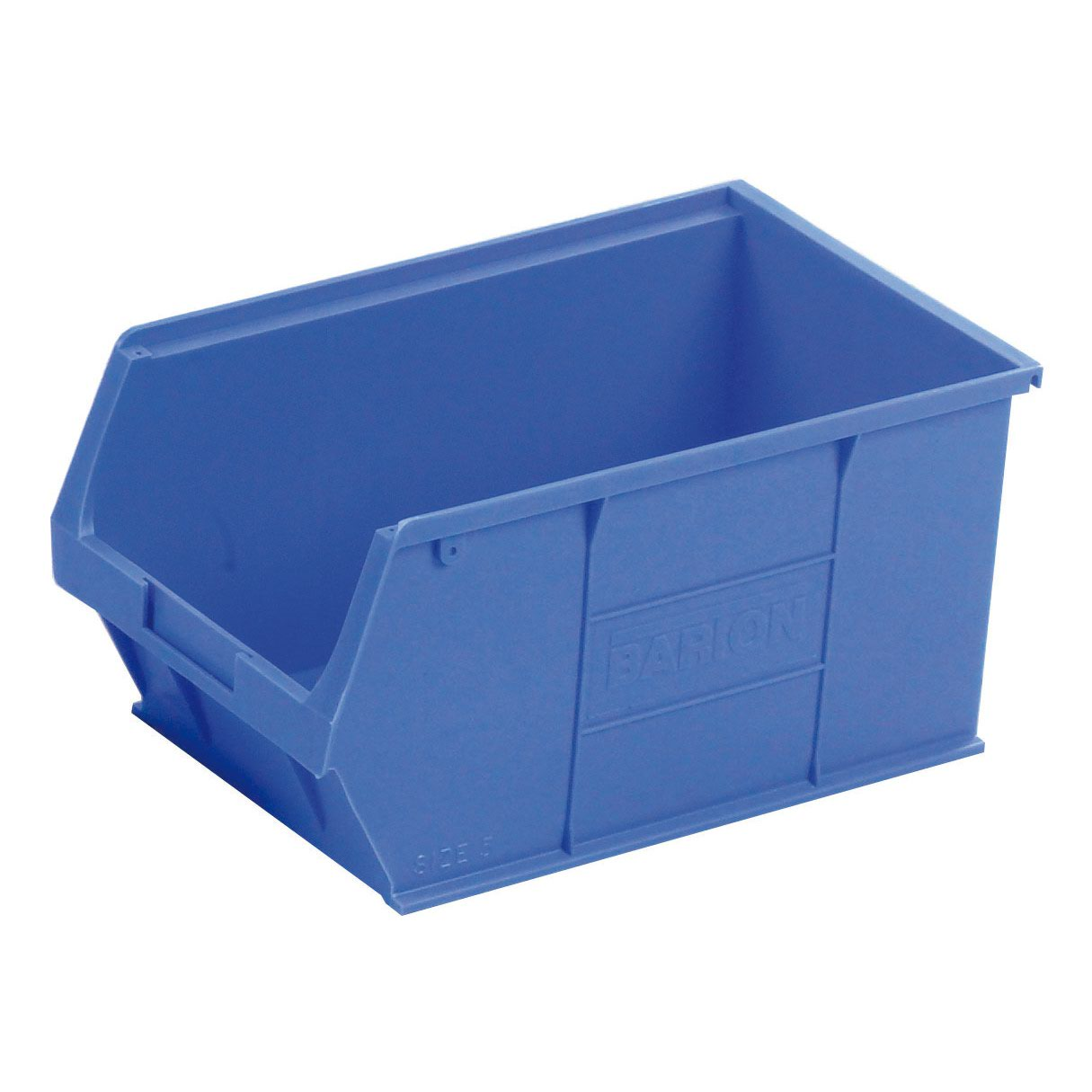 Image for Barton Semi Open Fronted Container TC5 Blue 350x205x182mm (10) 010051