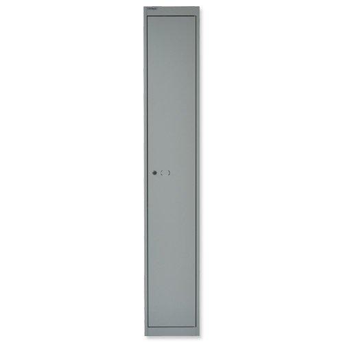 Image for Bisley Locker 1 Door 457mm Grey CLK181