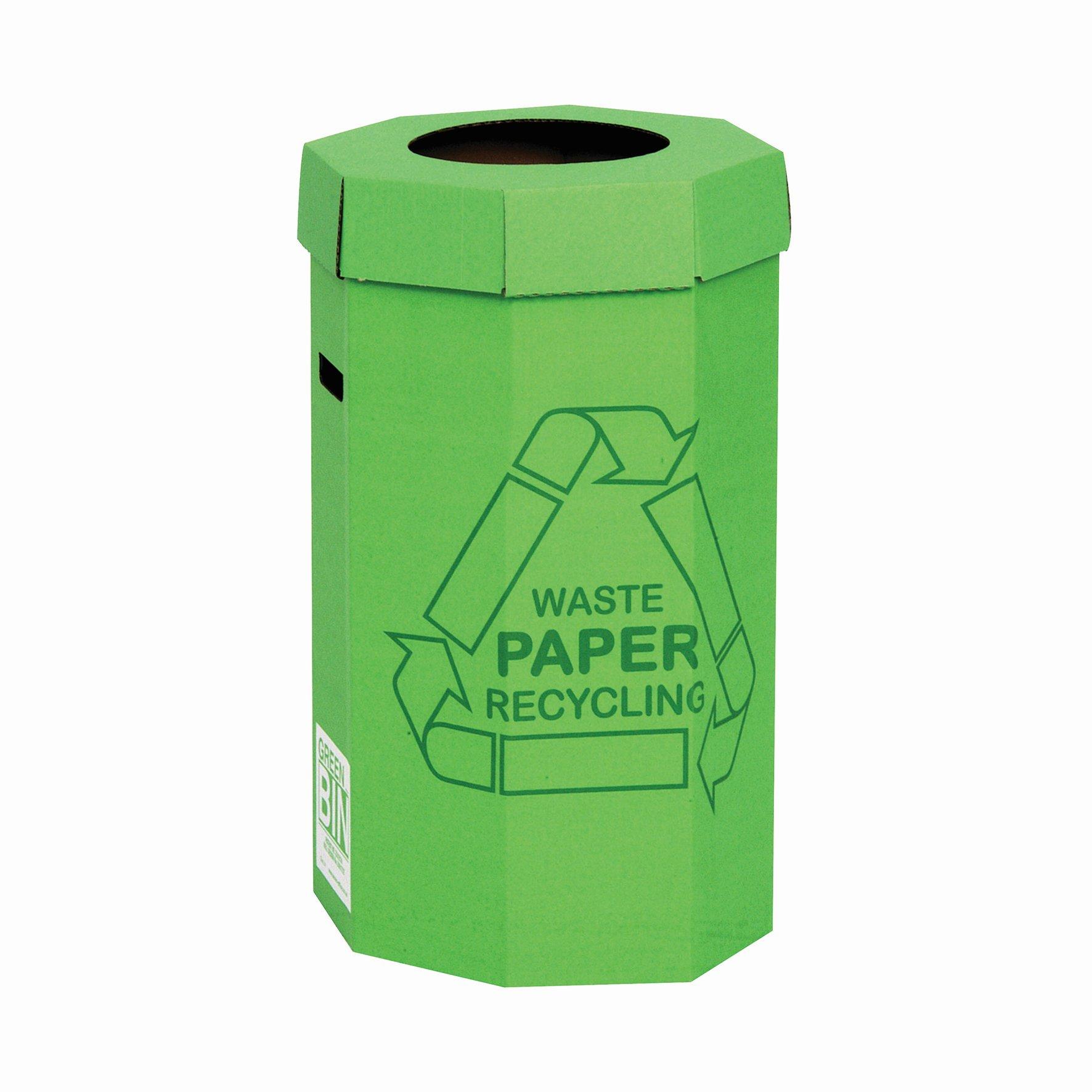 Green Recycling Bin 60litre (5)
