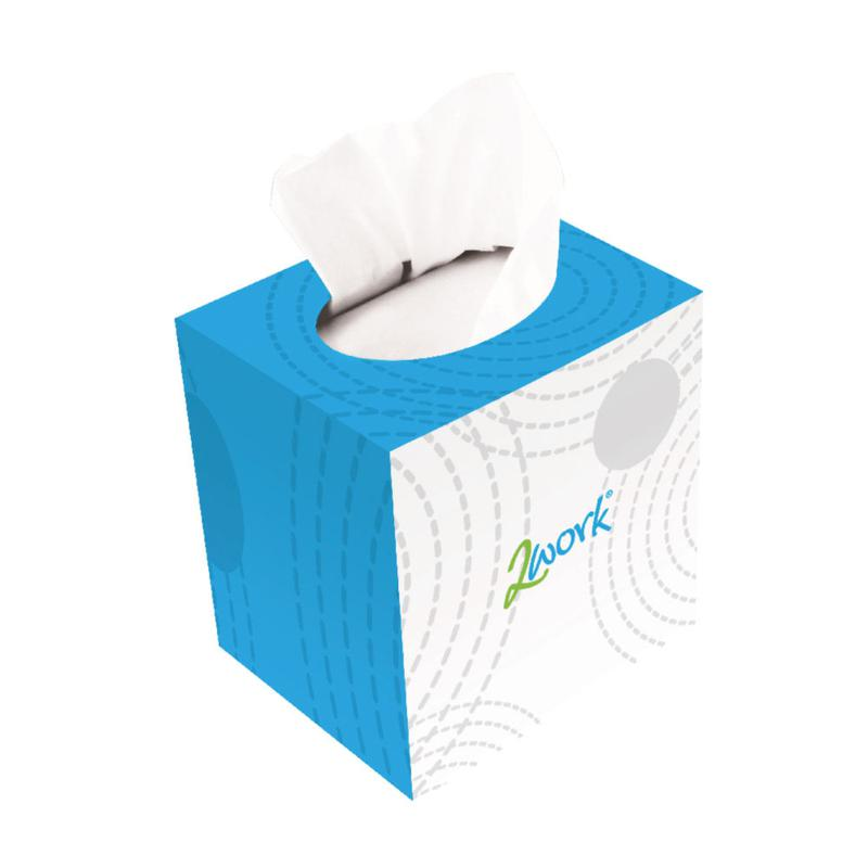 Image for Facial Tissues Cube Cream 70sheets (24)