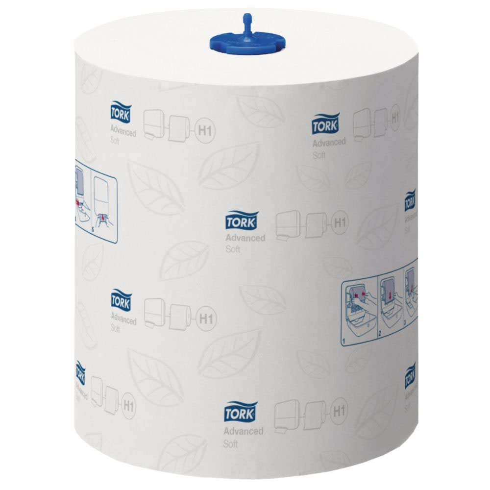 Tork Matic H1 Soft Hand Towel Roll 2 Ply 210mmx150m 625 Sheets per Roll [Pack 6]