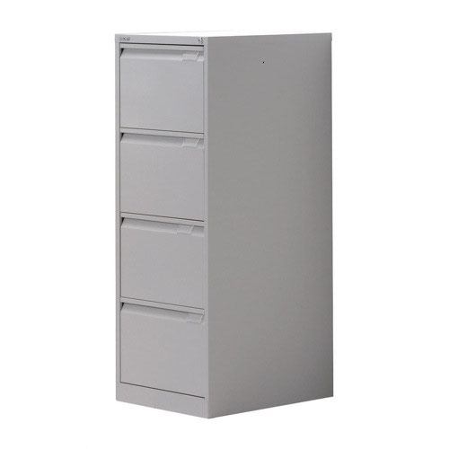 Bisley Filing Cabinet 4 Drawer 470x622x1321mm Grey BS4EGY