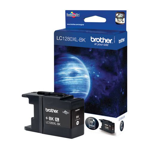 Brother Inkjet Cartridge High Capacity Black LC1280XLBK